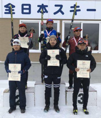 第98回全日本スキー選手権大会 男子 15km フリー